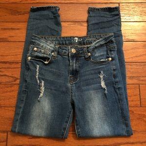 7FAM Josefina Skinny Jeans